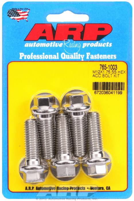 ARP - ARP7651003 - HEX SS BOLTS