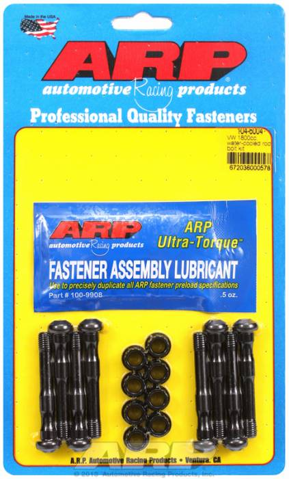ARP - ARP1046004 - ARP High Performance Wave-Loc Rod Bolts- Volkswagen 2.0L, 1.8L Water Cooled -Complete Set