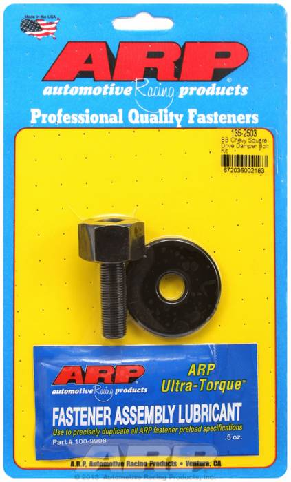 "ARP - ARP1352503 - ARP Square Drive Balancer Bolt, 1/2"" Head With Washer-Big Block Chevy- 1/2""-20 Thread-"