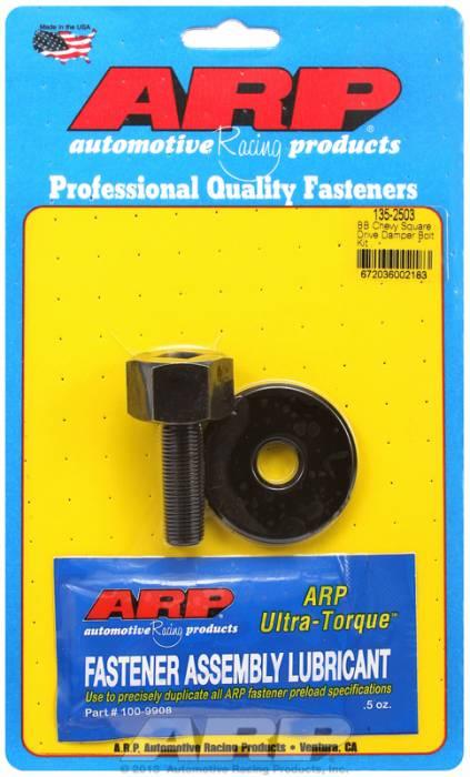 "ARP - ARP1352503 - ARP Square Drive Balancer Bolt, 1/2"" Head With Washer-Big Block Chevy- 1/2""-20 Thread-"