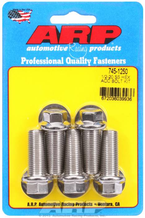ARP - ARP7451250 - HEX SS BOLTS
