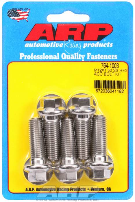 ARP - ARP7641003 - HEX SS BOLTS