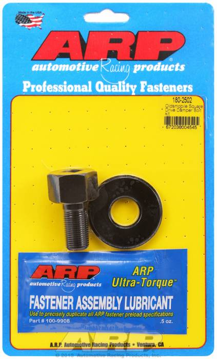 "ARP - ARP1802502 - ARP Square Drive Balancer Bolt, 1/2"" Head With Washer-Oldsmobile V8- 3/4""-16 Thread-"