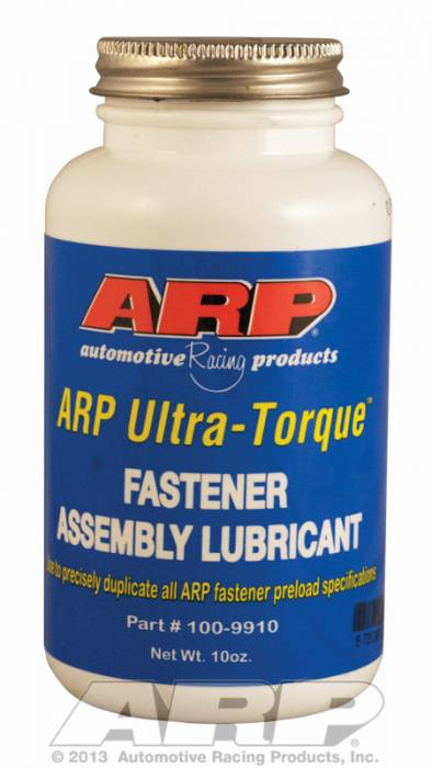 ARP - ARP1009910 - ARP Ultra Torque Lube For Fasteners - 10 oz. Bottle with Brush Top