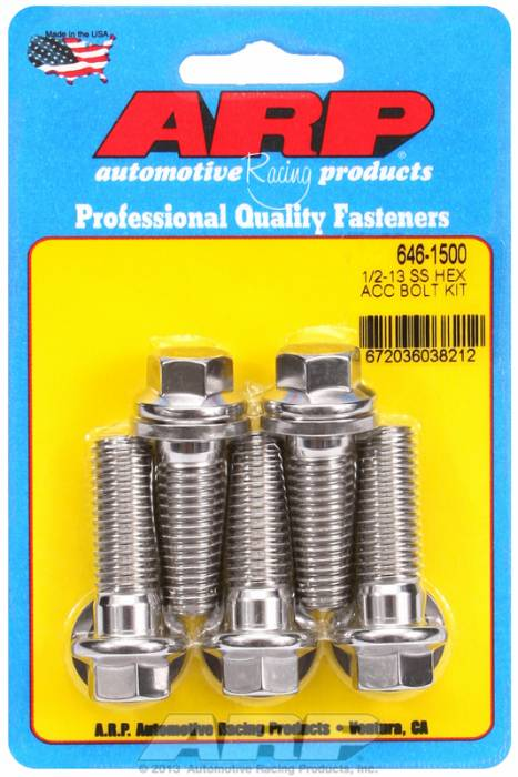 ARP - ARP6461500 - HEX SS BOLTS