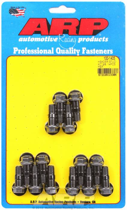 ARP - ARP1001405 - Universal Head Stud Kit, 3/8? Oal, 14 Pieces