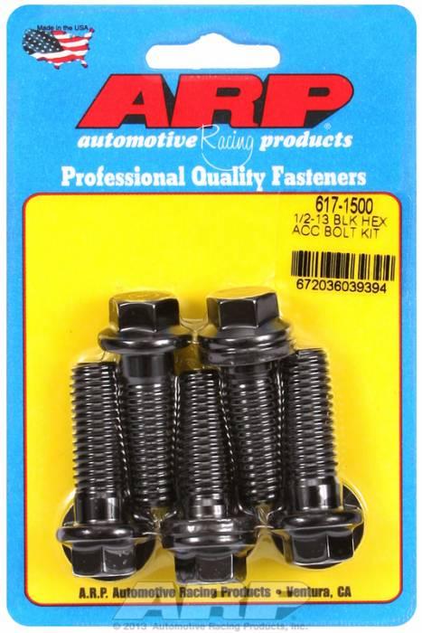 ARP - ARP6171500 - HEX BLACK OXIDE BOL