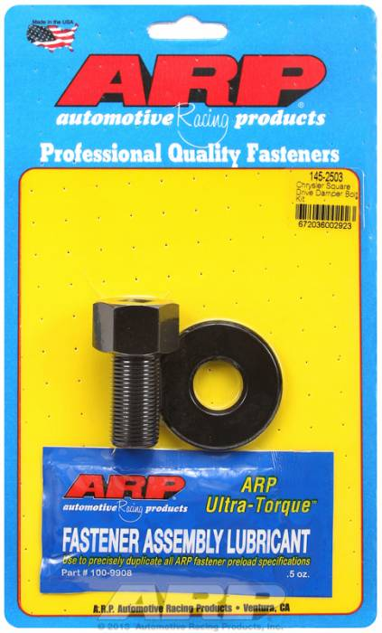 "ARP - ARP1452503 - ARP Square Drive Balancer Bolt, 1/2"" Head With Washer-Chrysler V8-3/4""-16 Thread"