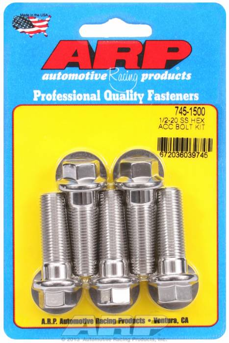 ARP - ARP7451500 - HEX SS BOLTS