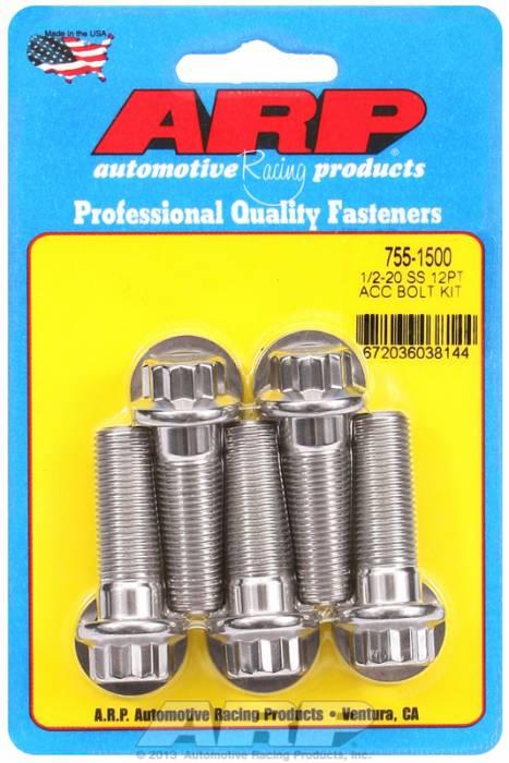 ARP - ARP7551500 - 12PT SS BOLTS