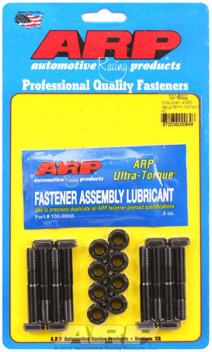 ARP - ARP1076002 - ARP High Performance Rod Bolts- Mitsubishi 4G63, 1994 And Newer ,8mm - Complete Set