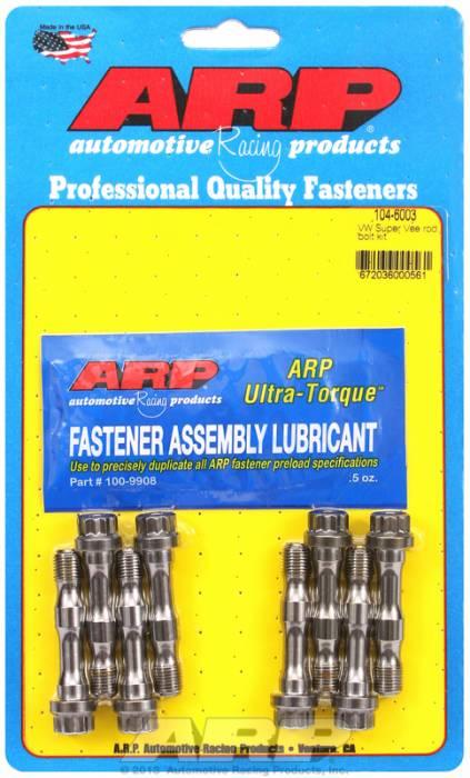 ARP - ARP1046003 - ARP High Performance Wave-Loc Rod Bolts- Volkswagen Cap Screw Super Vee (Audi Style Rod)-Complete Set