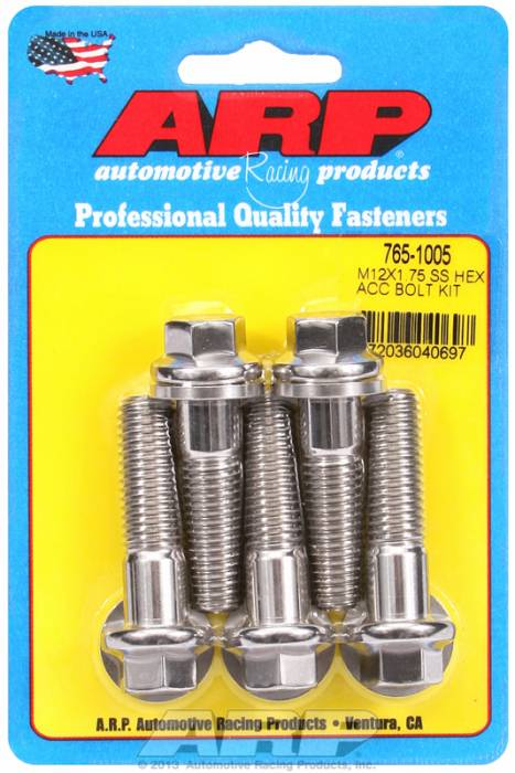 ARP - ARP7651005 - HEX SS BOLTS