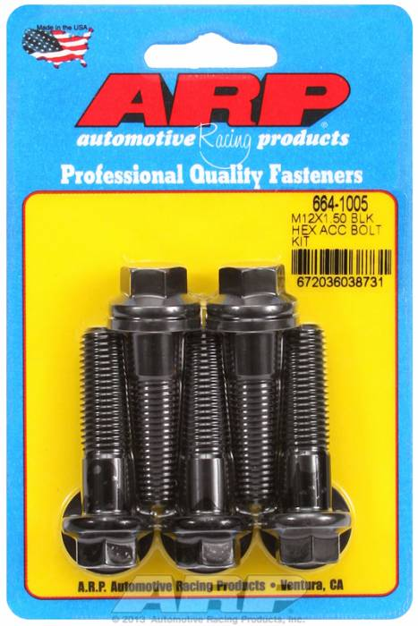 ARP - ARP6641005 - HEX BLK OXIDE BOLTS