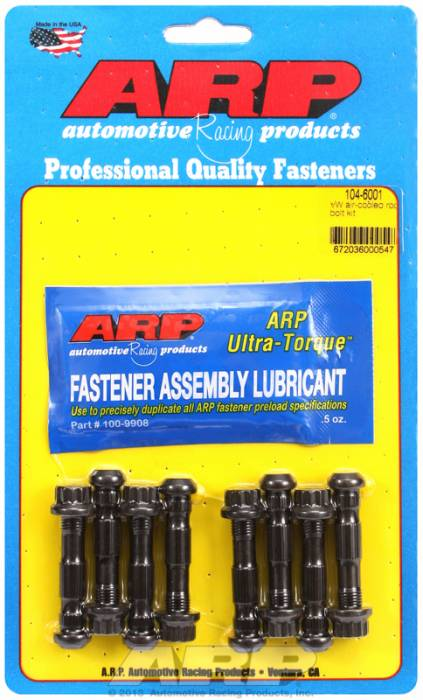ARP - ARP1046001 - ARP High Performance Rod Bolts- Volkswagen 1600Cc Air Cooled -Complete Set