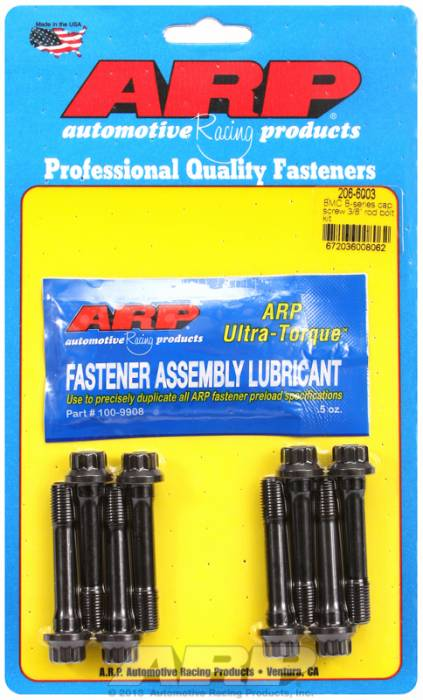 "ARP - ARP2066003 -  ARP-Rod Bolts-High Performance- BMC/Triumph/Rover -B Series Capscrew  3/8""- 64'-68', 18GB,18GF- Complete Set"