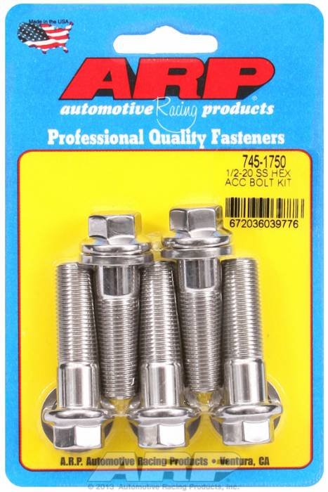 ARP - ARP7451750 - HEX SS BOLTS