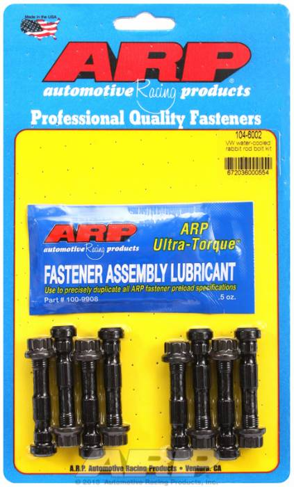 ARP - ARP1046002 -  ARP High Performance Rod Bolts- Volkswagen Corrado G60 & 1600cc Water Cooled Rabbit-Complete Set