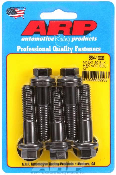 ARP - ARP6641006 - HEX BLK OXIDE BOLTS
