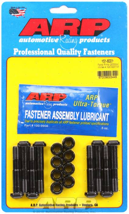ARP - ARP1516001 -  ARP High Performance Rod Bolts- Ford 2000Cc Pinto- Complete Set