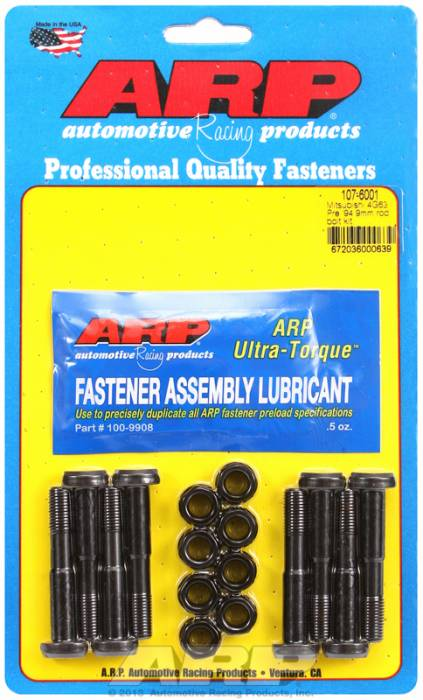 ARP - ARP1076001 -ARP High Performance Rod Bolts- Mitsubishi 4G63,Pre 1994,9Mm - Complete Set