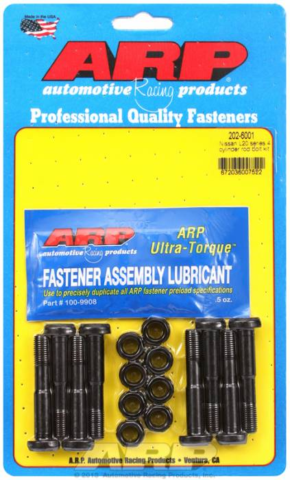 ARP - ARP2026001 - ARP High Performance Rod Bolts- Nissan L20 4Cyl,Z22 -Complete Set