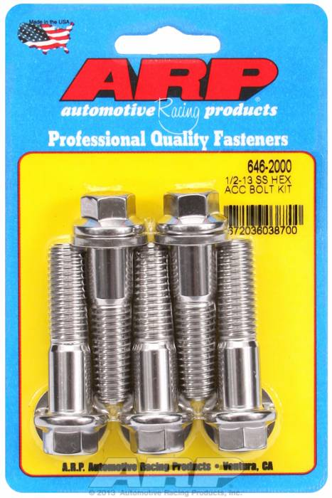 ARP - ARP6462000 - HEX SS BOLTS