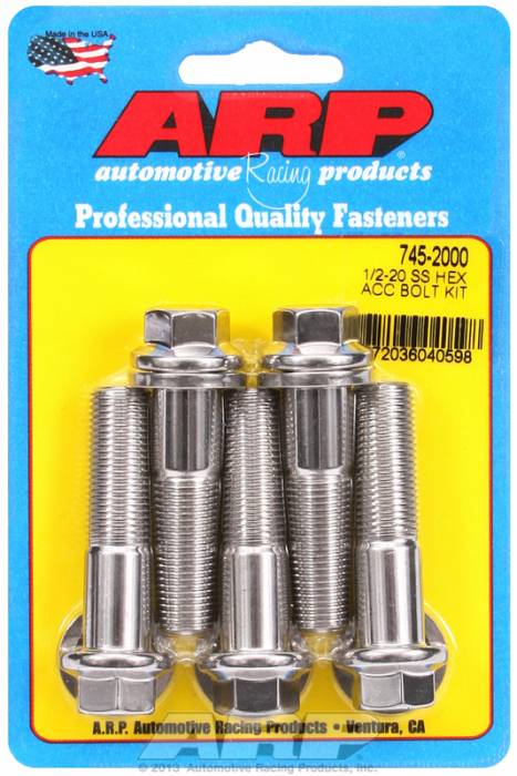 ARP - ARP7452000 - HEX SS BOLTS