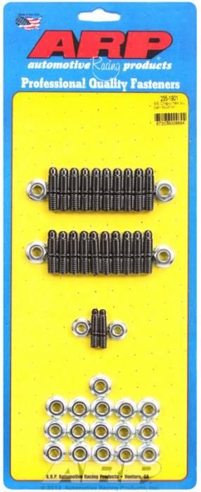 ARP - ARP2351901 - ARP Oil Pan Stud Kit- Big Block Chevy- Black Oxide- 6 Point