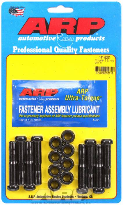 ARP - ARP1416001 - ARP-Rod Bolts-High Performance-Chrysler 2.2L- Complete Set