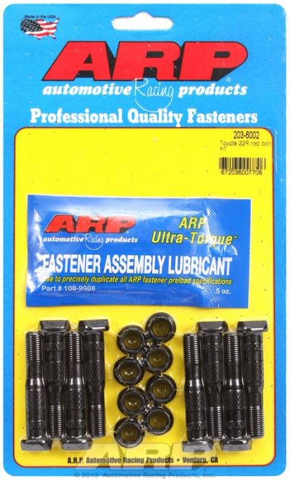 ARP - ARP2036002 - ARP High Performance Rod Bolts- Toyota 22R,3Sgte -Complete Set