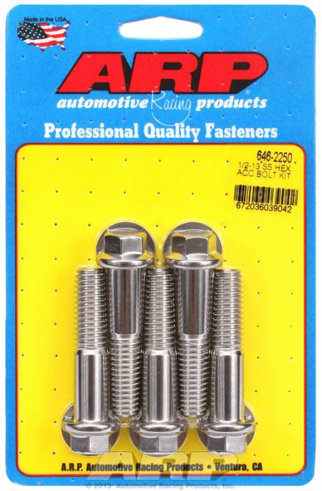 ARP - ARP6462250 - HEX SS BOLTS