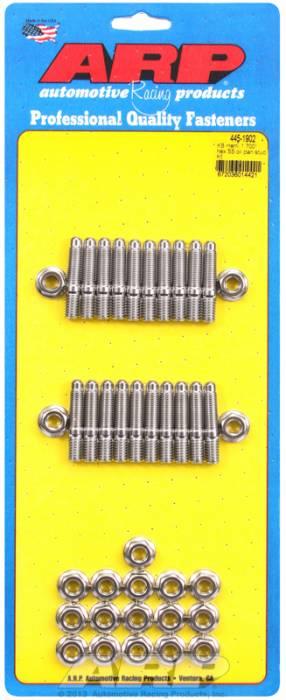 "ARP - ARP4451902 - ARP Oil Pan Stud Kit- Keith Black Hemi- 1.70""- Stainless Steel- 6 Point"