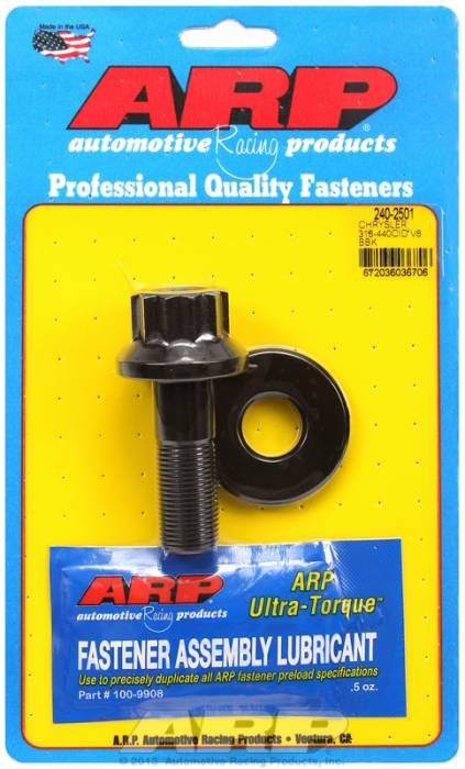 ARP - ARP2402501 - BALANCER BOLT KIT