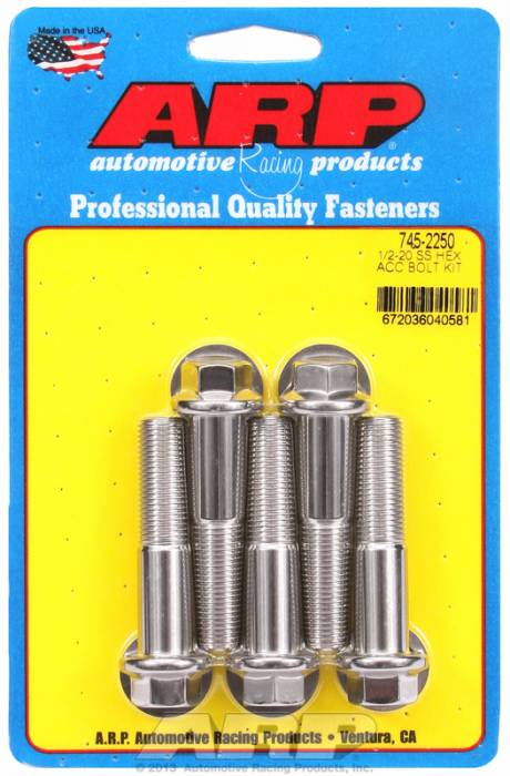 ARP - ARP7452250 - HEX SS BOLTS
