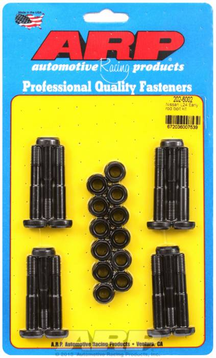 ARP - ARP2026002 - ARP High Performance Rod Bolts- Nissan L24 Early ,8mm -Complete Set
