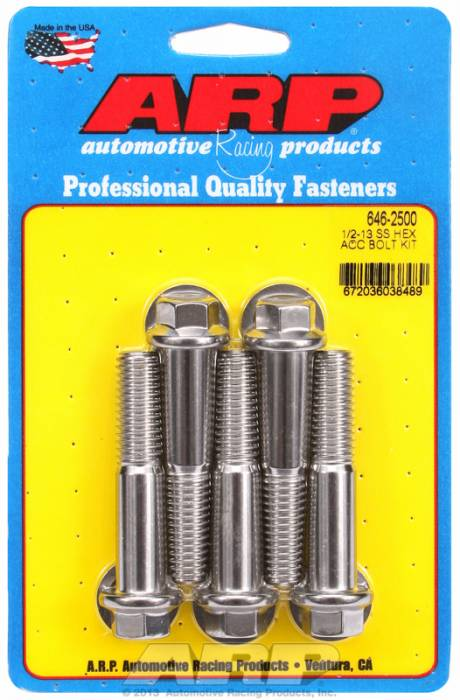 ARP - ARP6462500 - HEX SS BOLTS