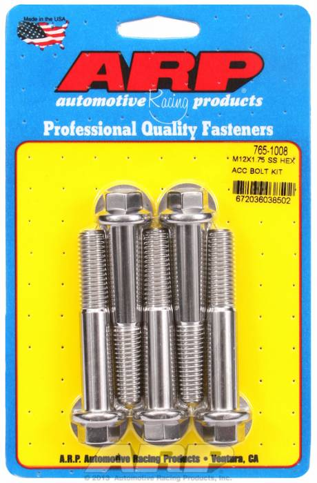 ARP - ARP7651008 - HEX SS BOLTS