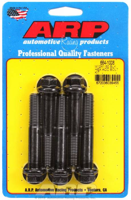 ARP - ARP6641008 - Hex Blk Oxide Bolts