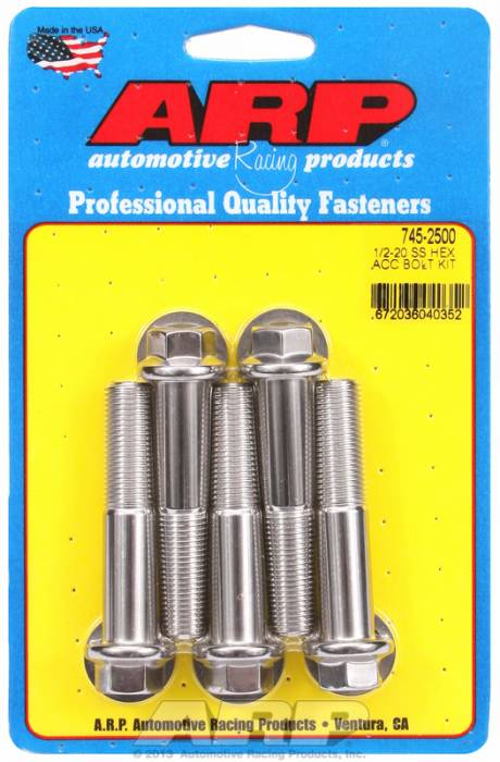 ARP - ARP7452500 - HEX SS BOLTS