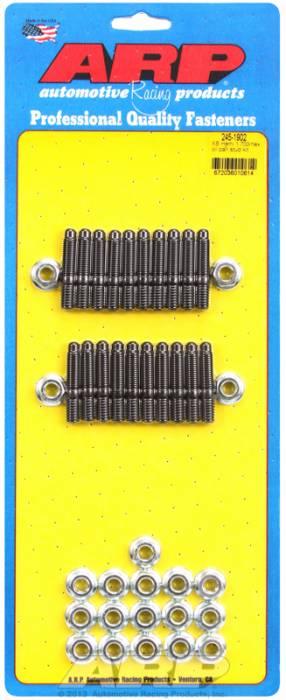 "ARP - ARP2451902 - ARP Oil Pan Stud Kit- Keith Black Hemi- 1.70""- Black Oxide- 6 Point"
