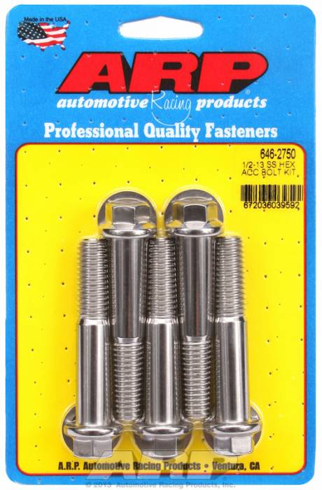 ARP - ARP6462750 - HEX SS BOLTS