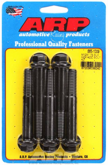 ARP - ARP6651009 - HEX BLK OXIDE BOLTS