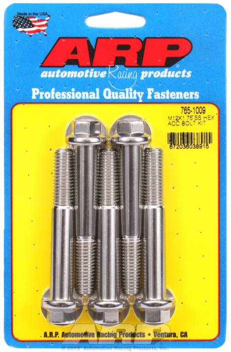 ARP - ARP7651009 - HEX SS BOLTS