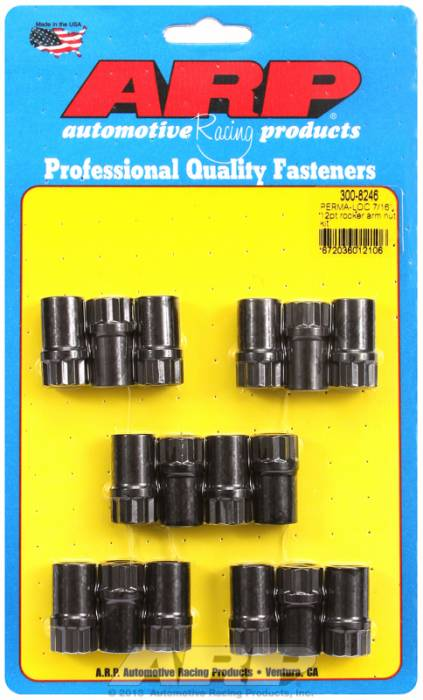 "ARP - ARP3008246 - ARP Poly-Lock Kit For Aluminum Rocker Arms And 7/16""-20 Threads, 1.200"" Long, .600"" Body Diameter, Pack Of 16"
