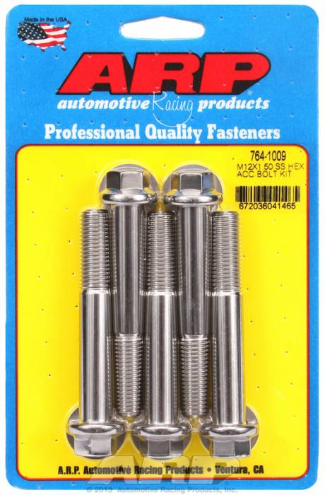 ARP - ARP7641009 - HEX SS BOLTS