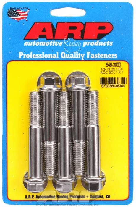 ARP - ARP6463000 - HEX SS BOLTS