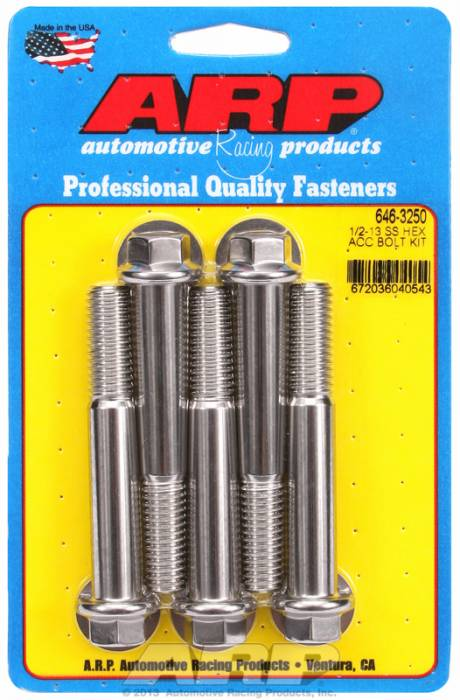 ARP - ARP6463250 - HEX SS BOLTS