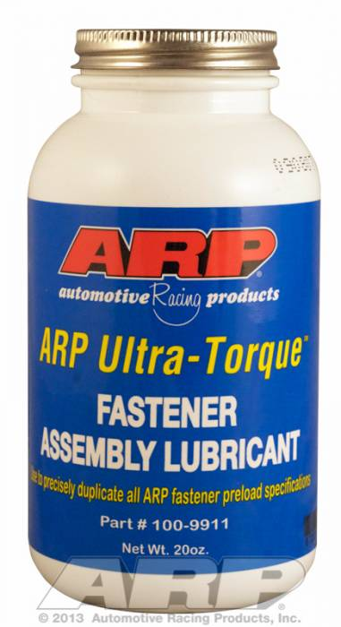 ARP - ARP1009911 - ARP Ultra Torque Lube for Fasteners - 20 oz. Bottle with Brush Top