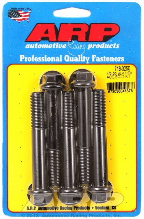 ARP - ARP7163250 - HEX BLK OXIDE BOLTS